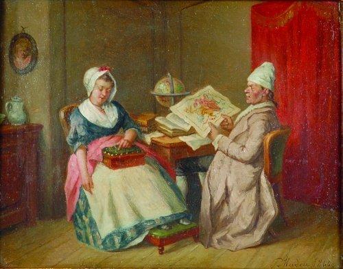 2019: Jean-Baptiste Madou Belgian, 1796-1877 THE CARTOG