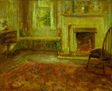 2022A: Circle of William James Glackens SITTING ROOM WI