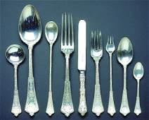 2428 Tiffany  Co Sterling Silver Flatware Service