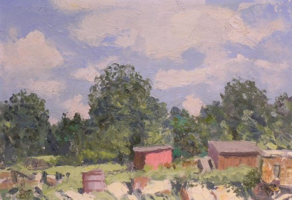 3004: Robert Wesley Amick American, 1879-1969 SHED UNDE