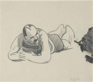 George Wesley Bellows American, 1882-1925 MALE BA