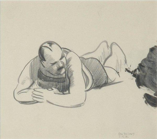 3008: George Wesley Bellows American, 1882-1925 MALE BA