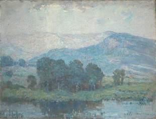 Joseph Henry Boston American, 1860-1954 BLUE LAND
