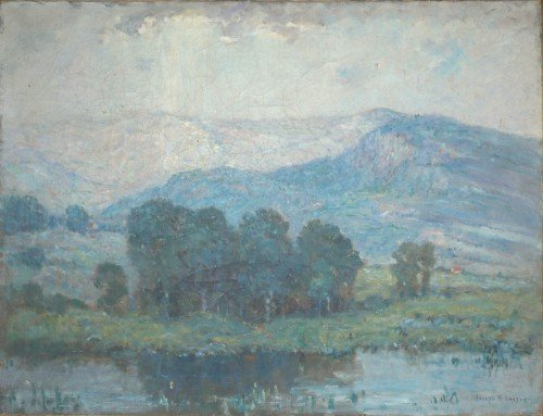 3010: Joseph Henry Boston American, 1860-1954 BLUE LAND
