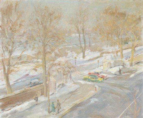 3011: Louis Bouche American, 1896-1969 90TH STREET BUS