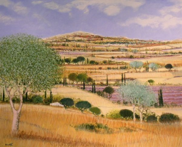 3023: Dominique Dorie French, b.1958 HILLS OF PROVENCE