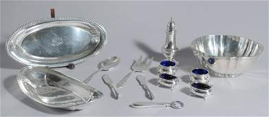3351 Miscellaneous Collection of Sterling Silver Items