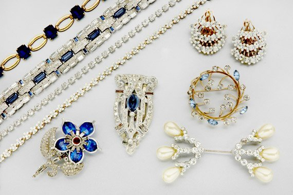 1: Large Lot of Assorted Costume Jewelry