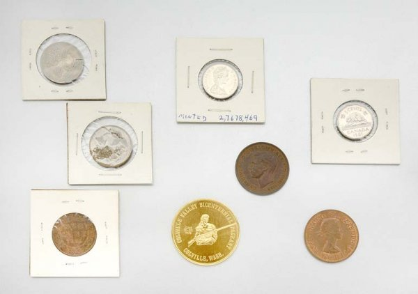 3: Group of Assorted Coins