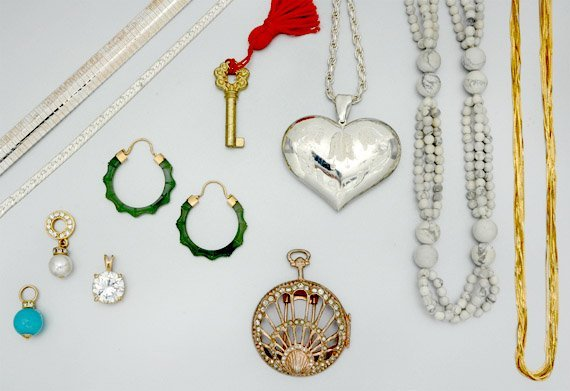 13: Group of Assorted Jewelry and Costume Jewelry