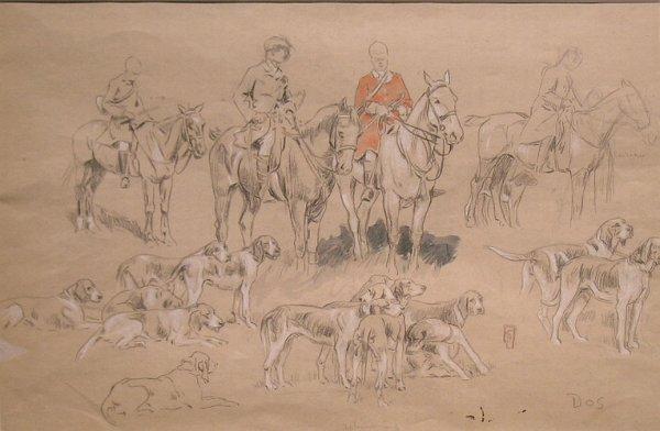 1008: Attributed to Edouard Edmond Doigneau (i) THE HUN