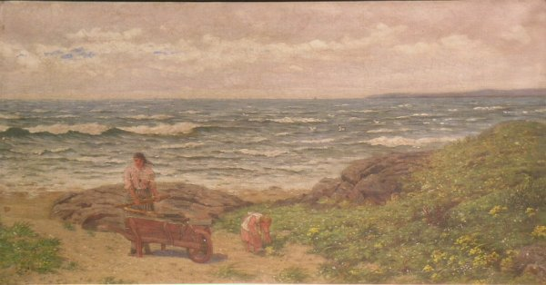 1010: Attributed to Hugh Cameron A SUMMER BREEZE-AYESHI