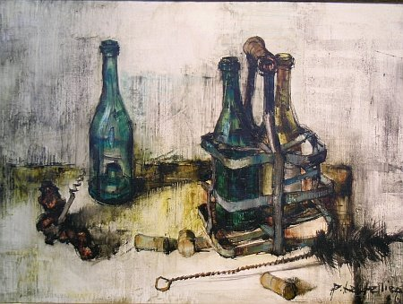 1024: Pierre Letellier French, b.1928 STILL LIFE WITH W