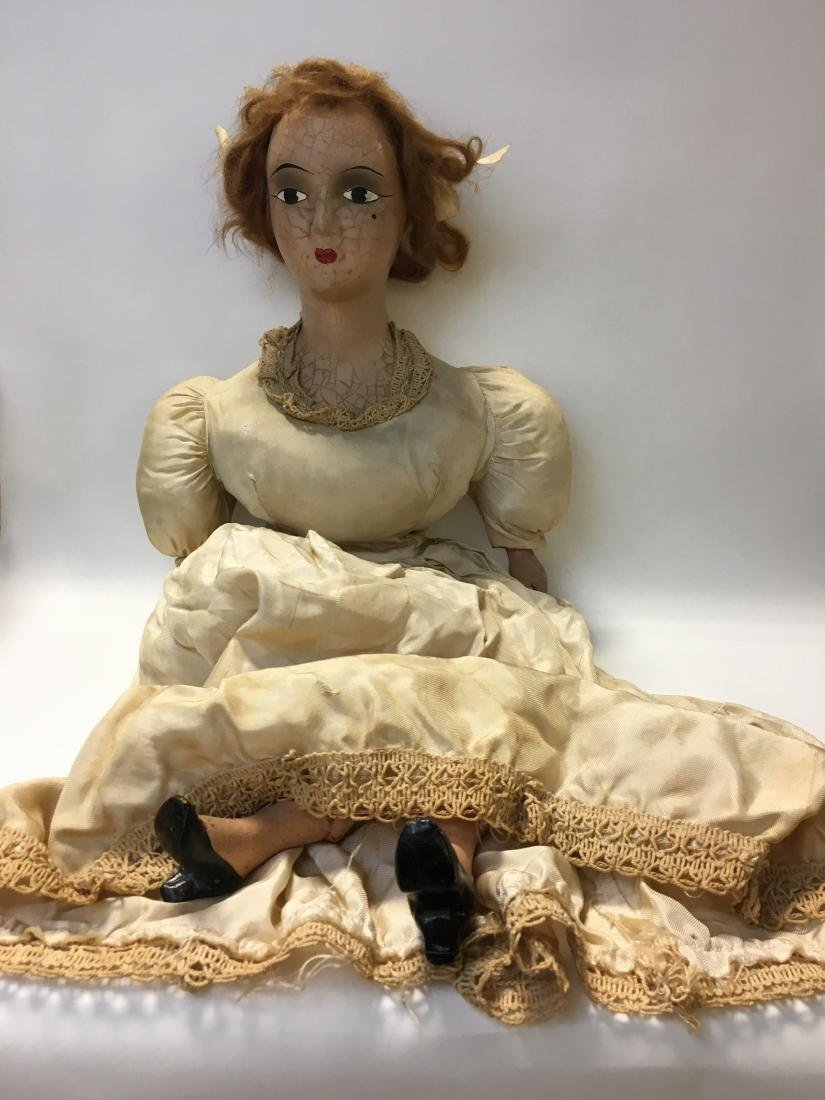 1920's Composition Bed Doll