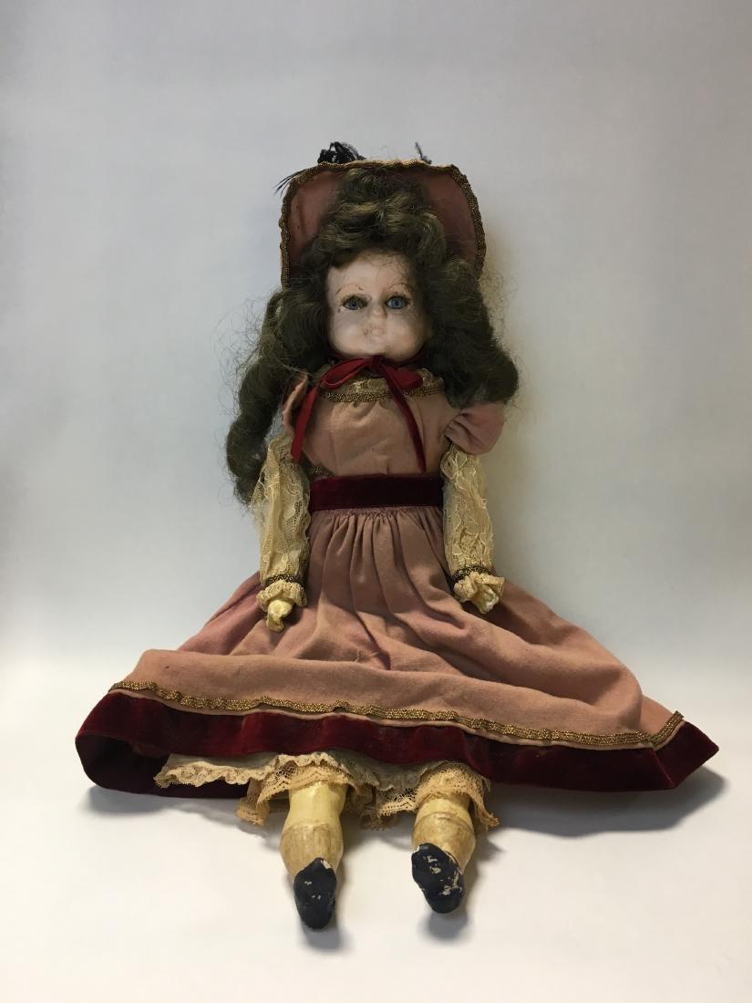 Antique European Composition Doll