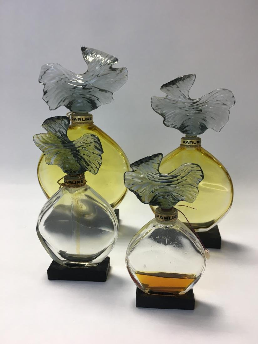 Vintage Guerlain Parure Perfume Graduated Set of 4