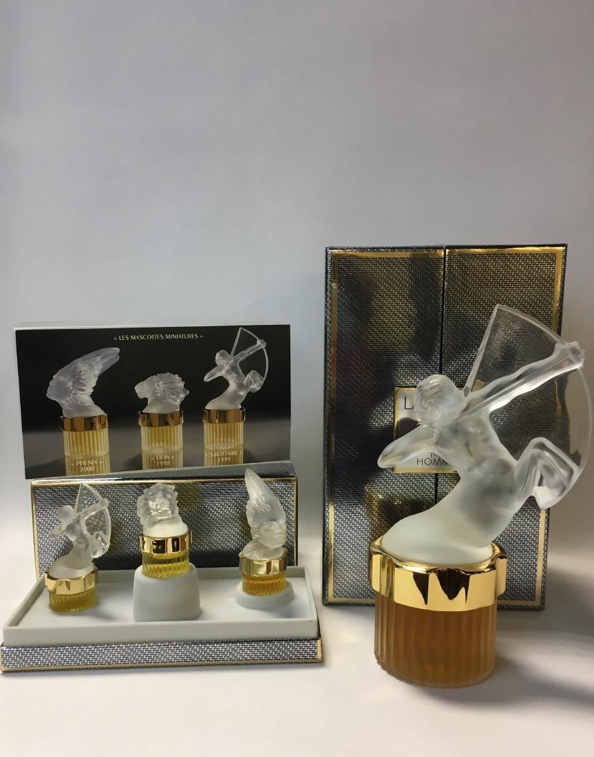 Lalique Mascotte Sagittaire Perfume Bottle & Mini Set