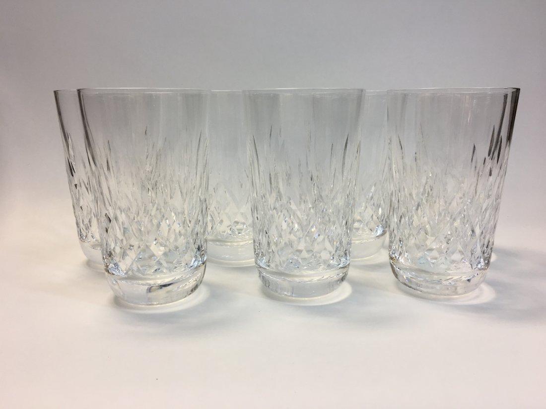 7 Waterford Crystal Lismore Tumblers