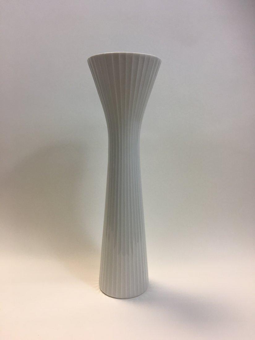 Rosenthal Mid Century Modern White Porcelain Vase