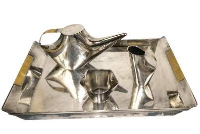 Lino Sabattini Como Christofle Gallia Silver Plate Art