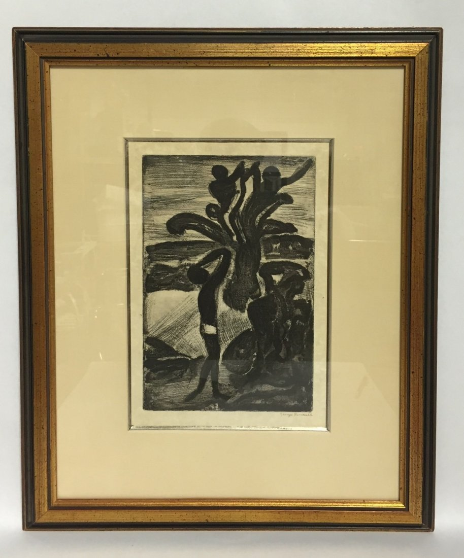 Georges Roualt Hand Signed Etching