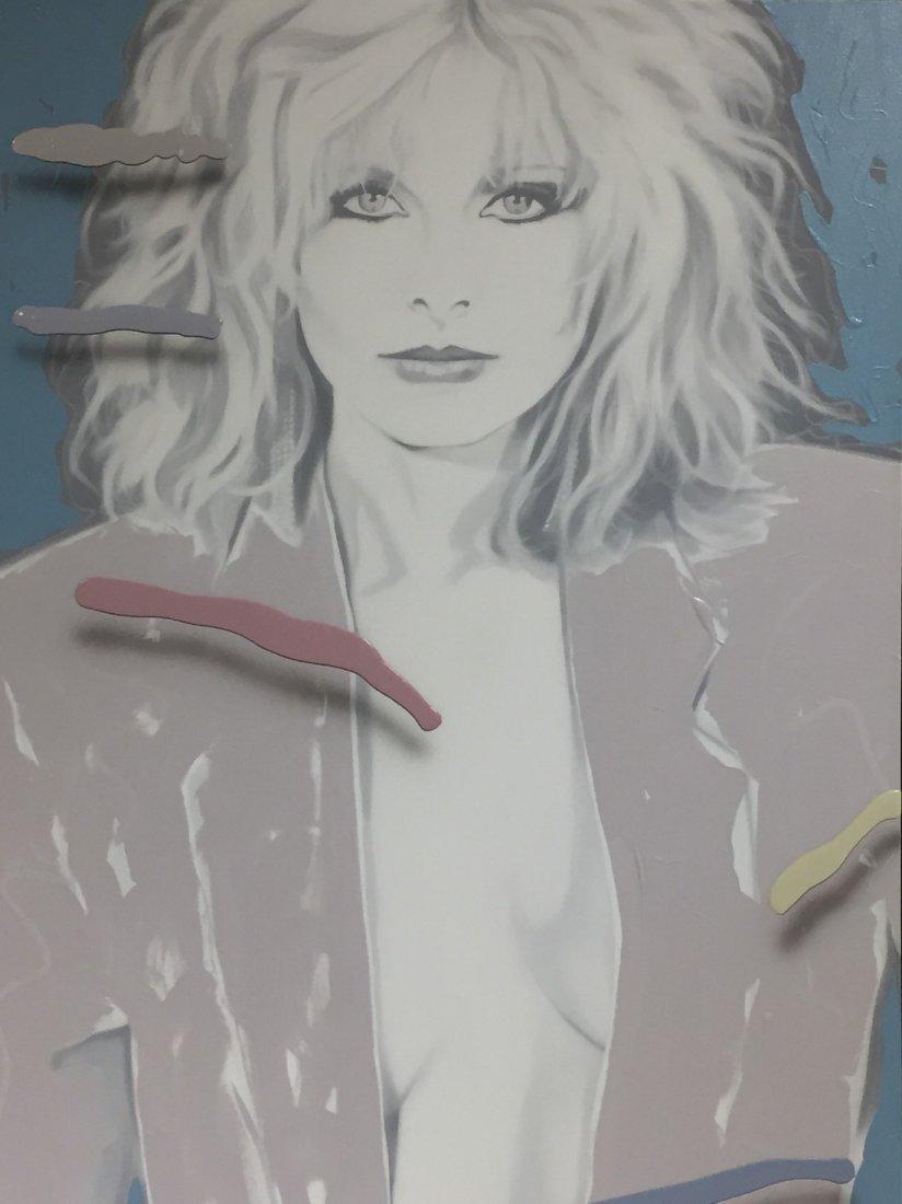 Jim Ceravolo Original Oil, Female Portrait