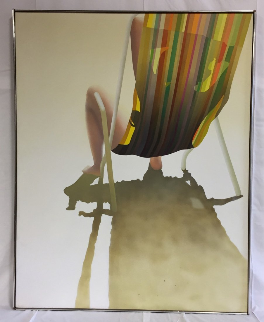 Hava Raucher Original Social Realist Signed Painting
