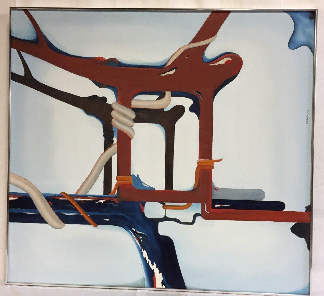RF Williams Original Abstract Art Modernism