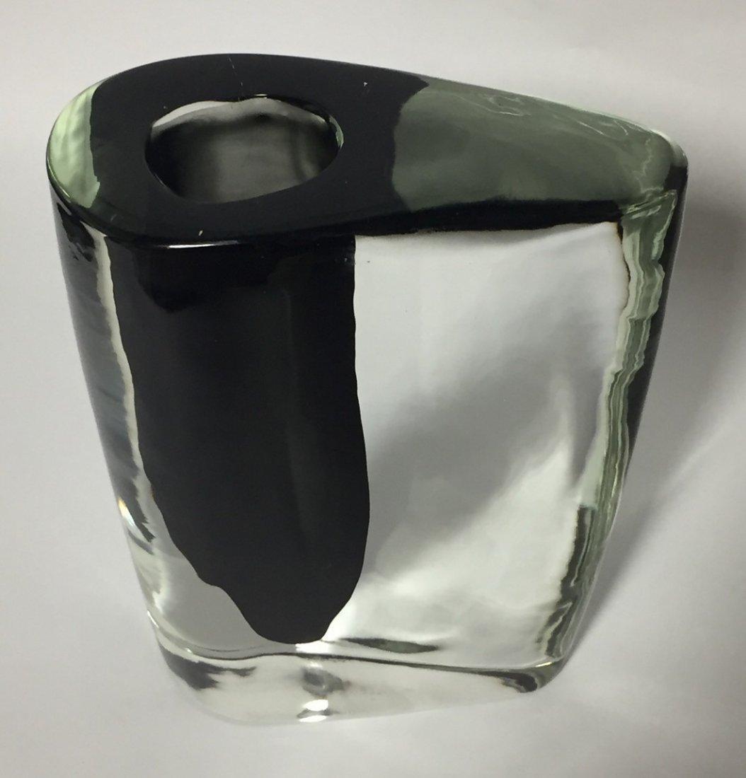 Cenedese Italian Glass Vase - 2
