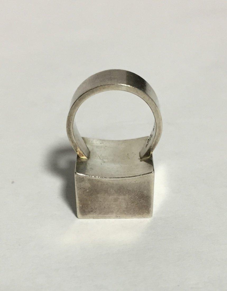 Modernist Arne Johansen Denmark Ring