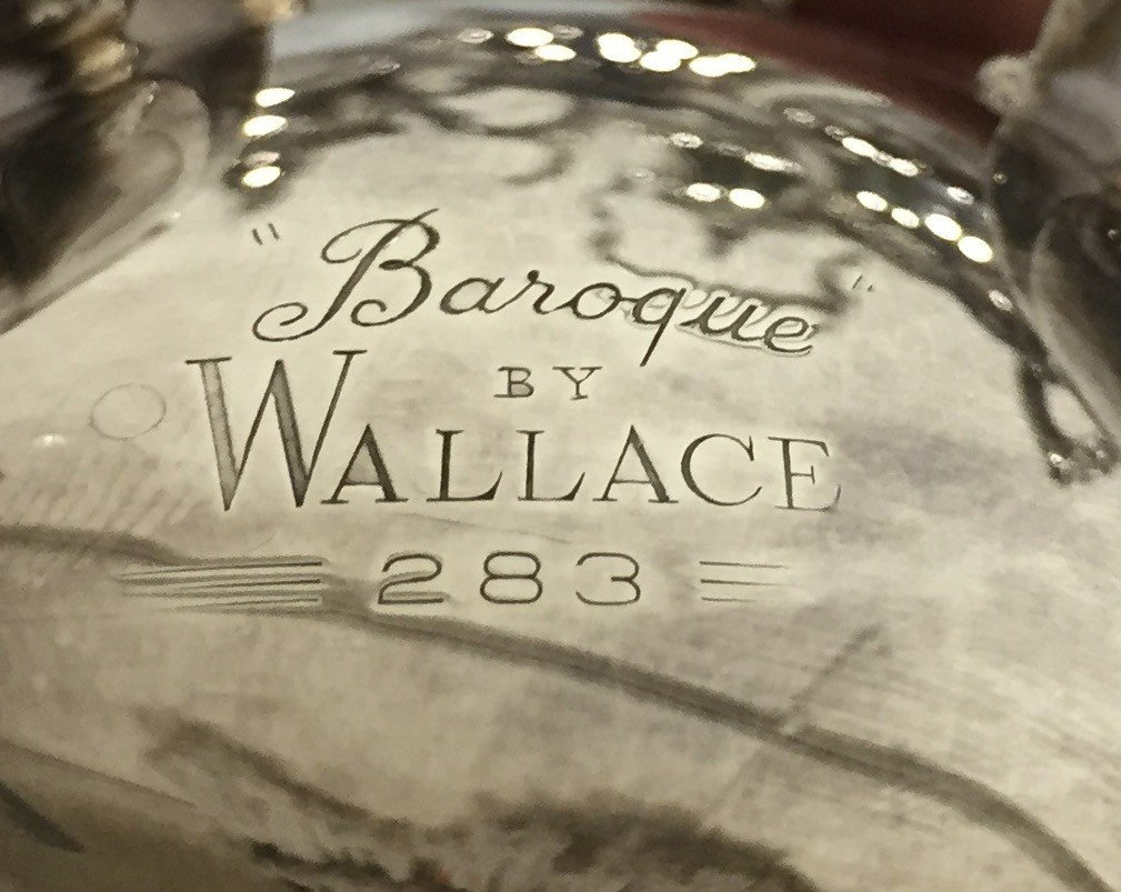 Wallace Baroque Coffee Tea Service - 3