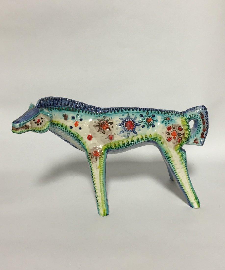 Mid Century Abstract Ceramic Horse - 4
