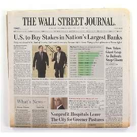 The Wall Street Journal 10/14/2008 - Stock Market Crash