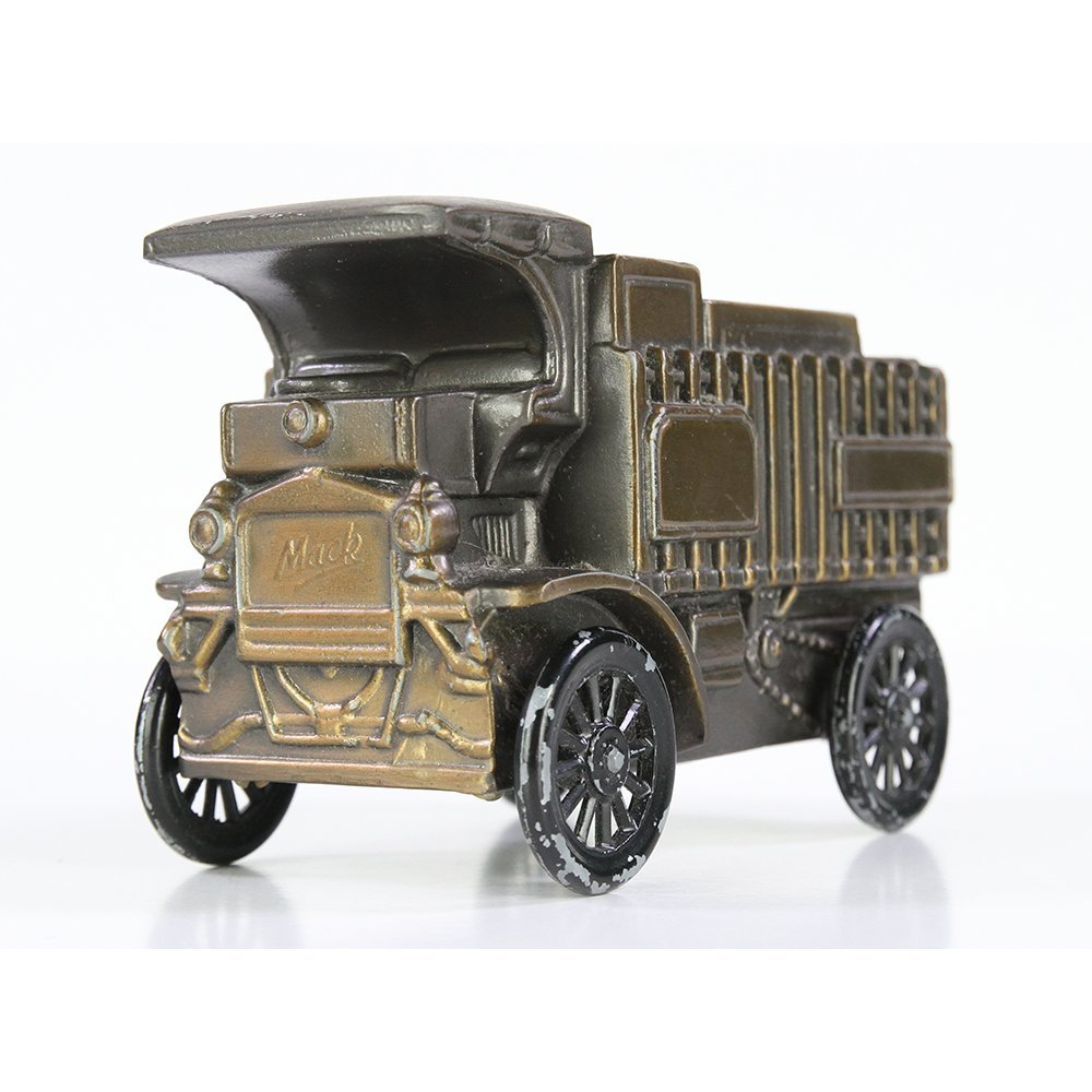 Banthrico Mack Truck 1906 Diecast Metal Coin Bank