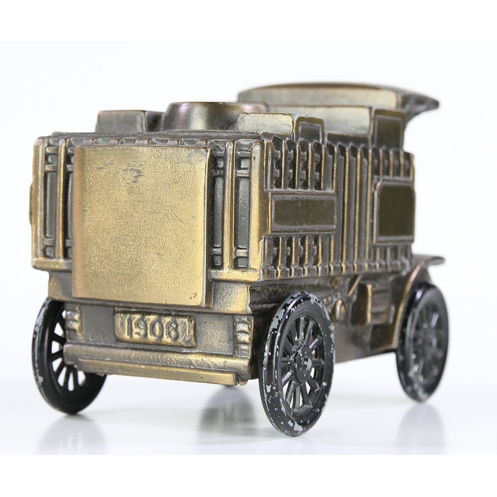 Banthrico Mack Truck 1906 Diecast Metal Coin Bank - 4