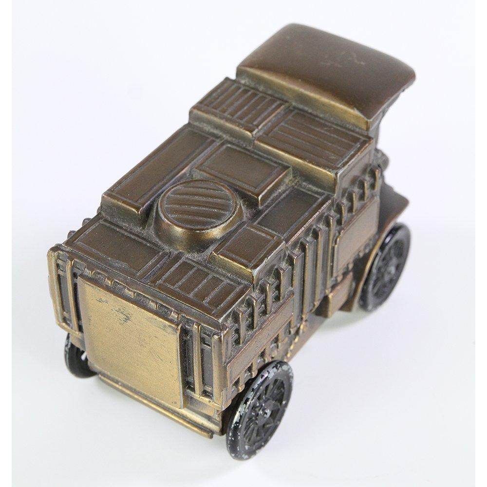 Banthrico Mack Truck 1906 Diecast Metal Coin Bank - 5
