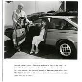 Corinne Alpen & John E Reilly 8x10 B&W Photo & LTR