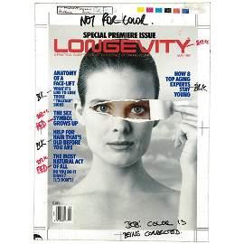 Ltd Ed 1/1 Longevity May 1989 Cover Draft