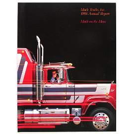 Mack Trucks 1986 Annual Report