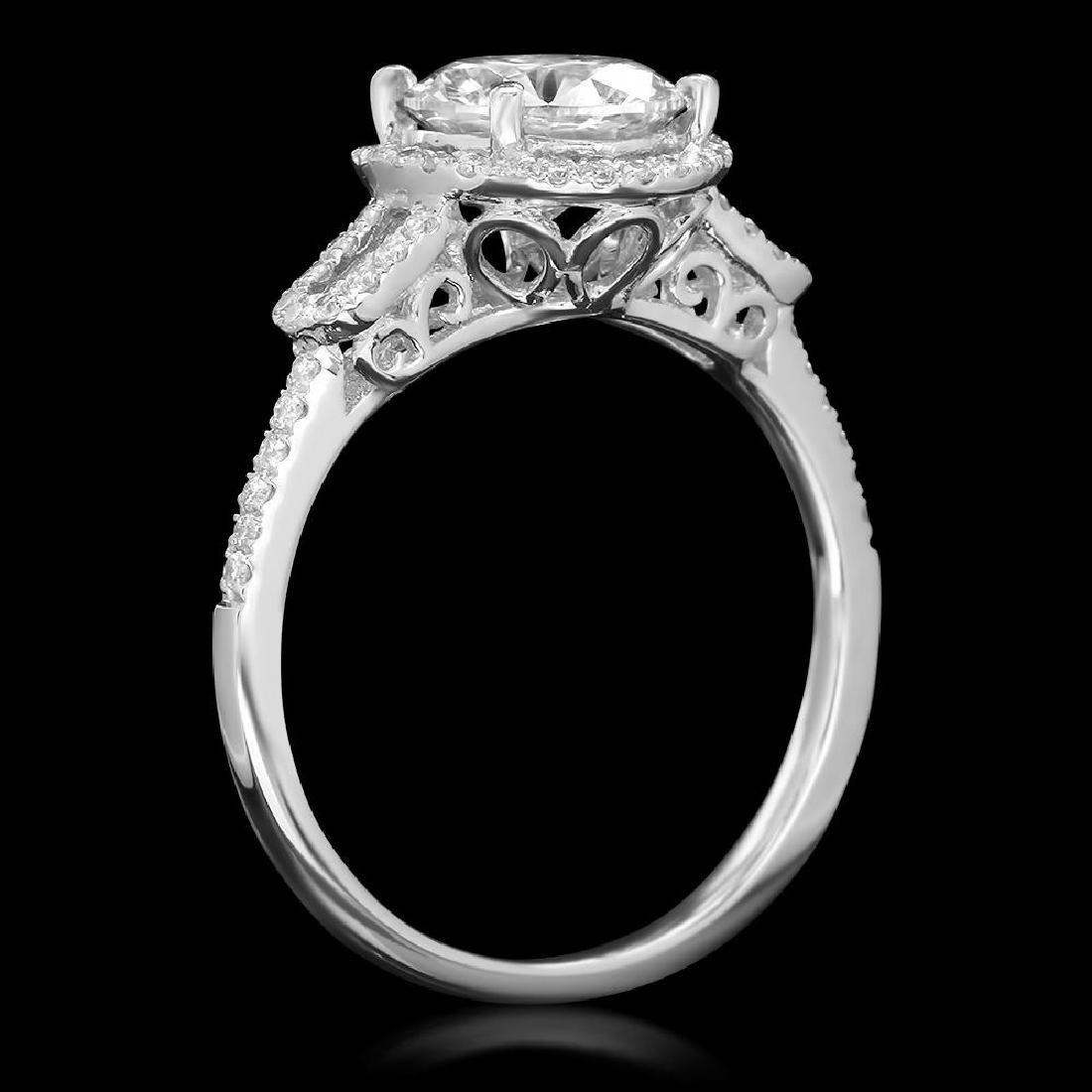 14K Gold 1.79ct Diamond Ring - 2