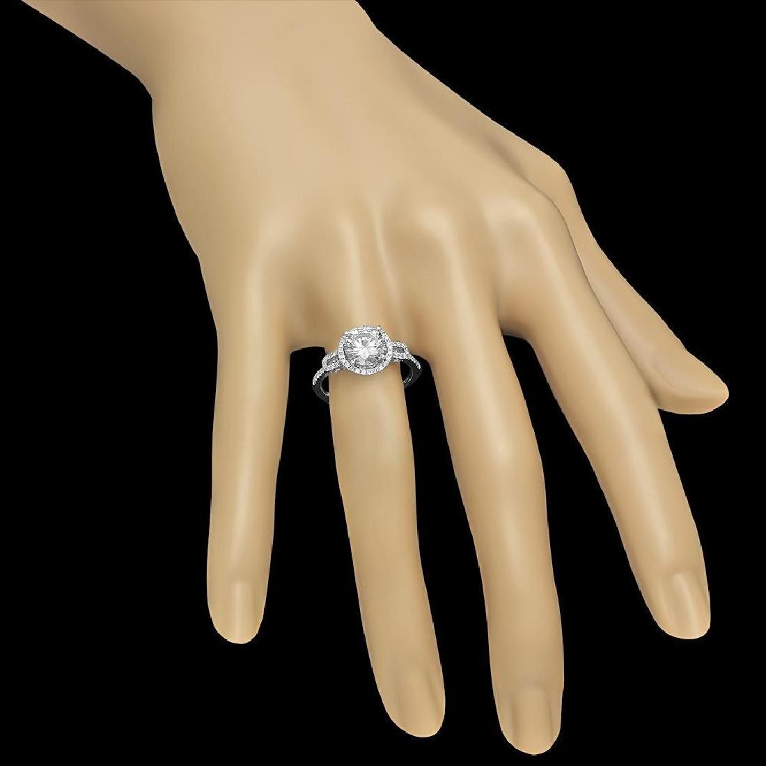 14K Gold 1.79ct Diamond Ring - 3