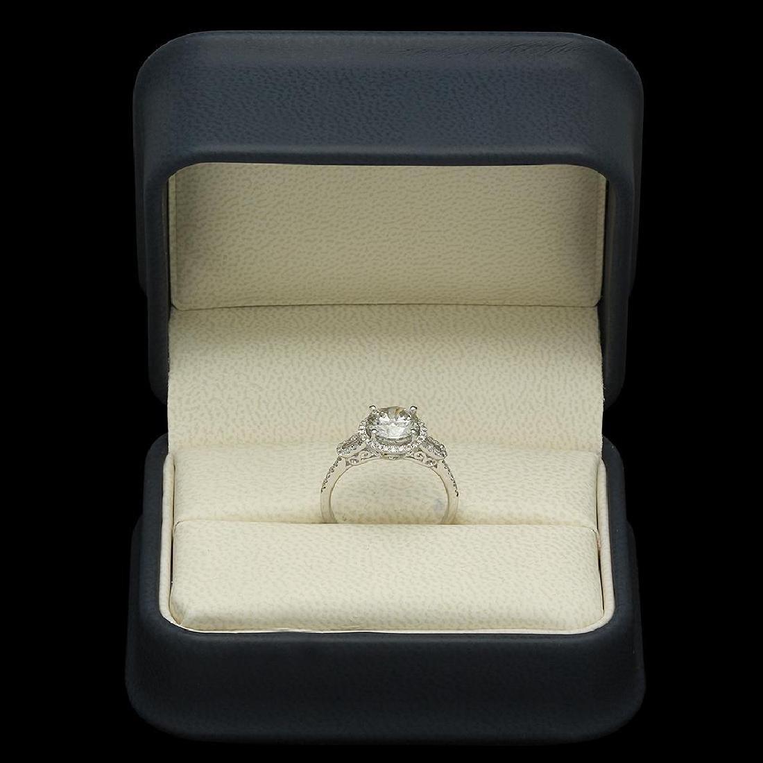 14K Gold 1.79ct Diamond Ring - 4