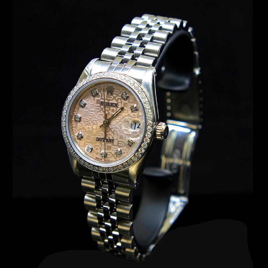 Rolex DateJust 31mm Jubelee Diamond Dial & Bezel Aprox. - 2