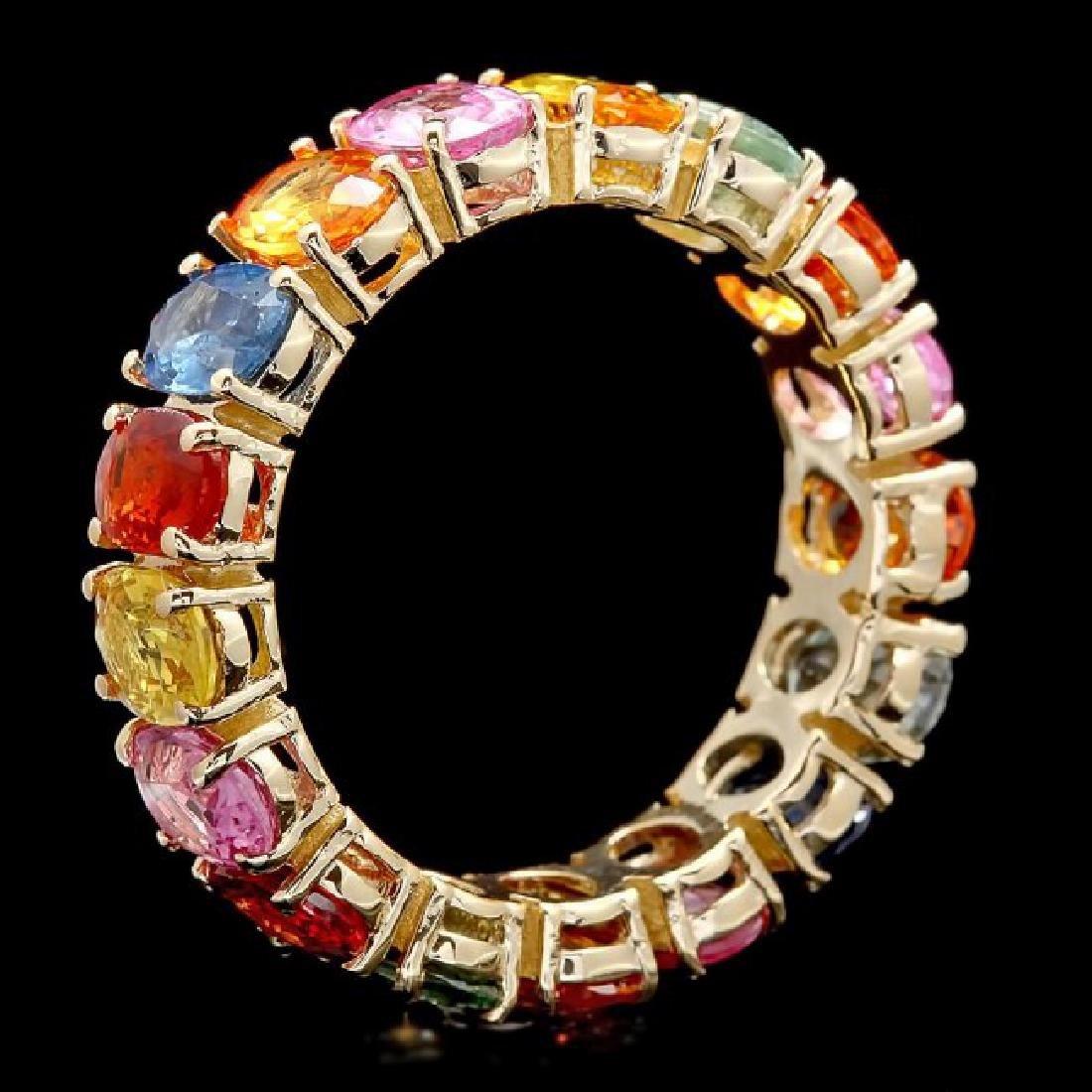 14k Yellow Gold 9.00ct Sapphire Ring - 2