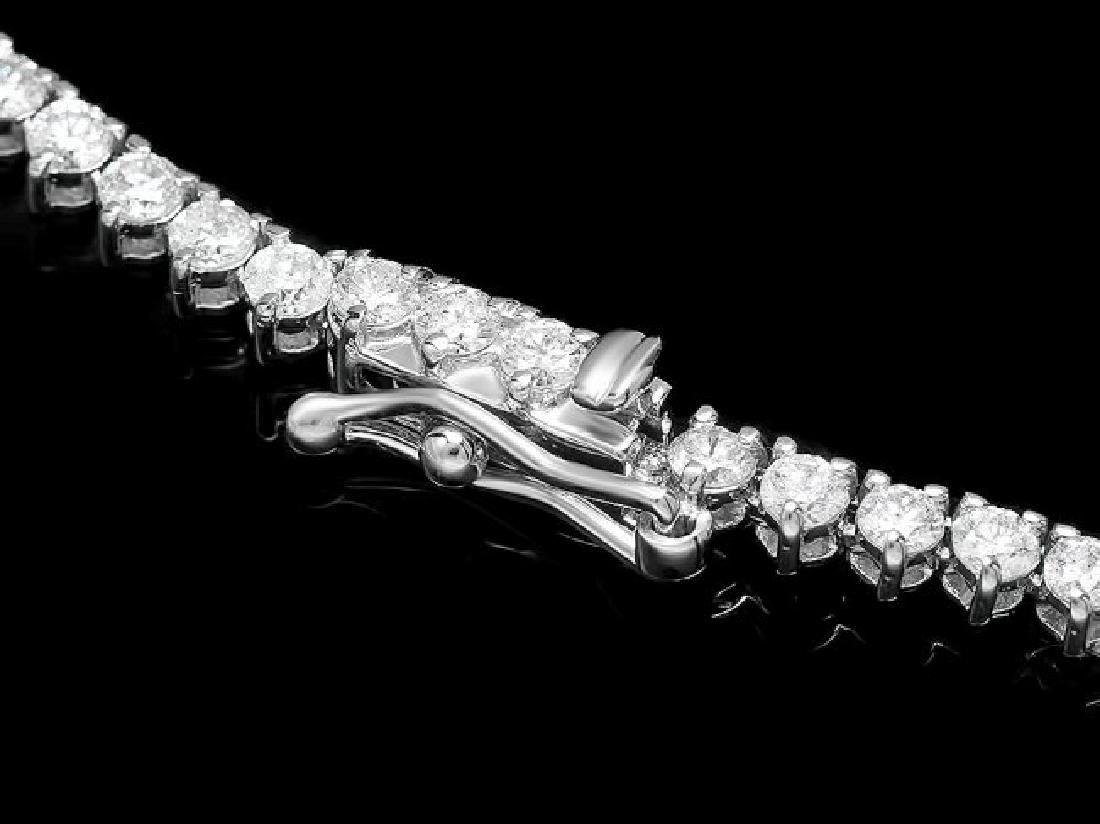 18k Gold 17.00ct Emerald 10.70ct Diamond Necklace - 5
