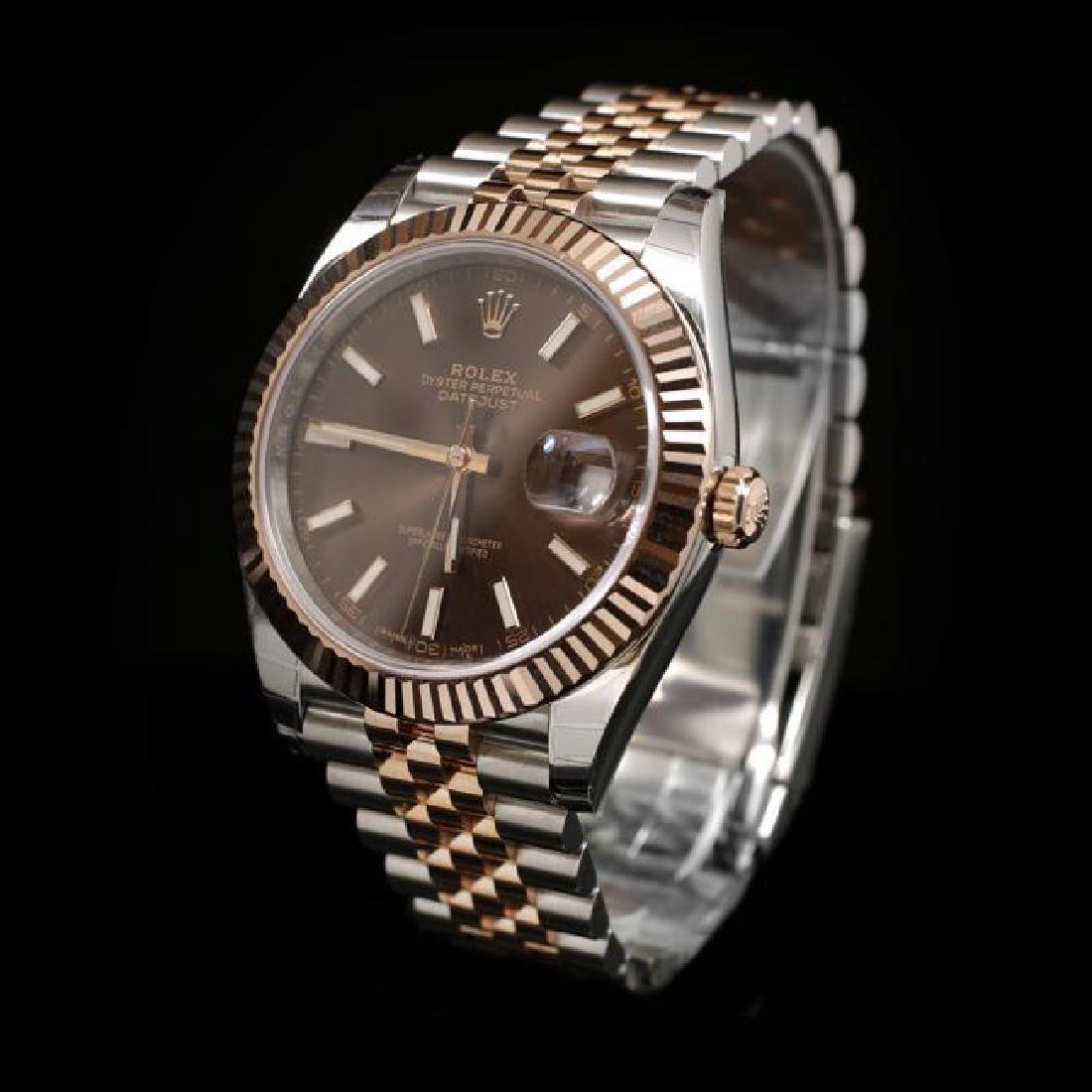 Rolex DateJust Two-Tone 41mm Men's Wristwatch - 2