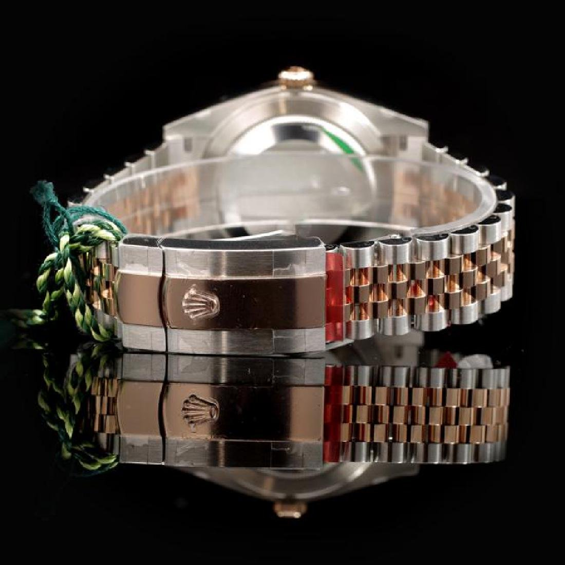 Rolex DateJust Two-Tone 41mm Men's Wristwatch - 3