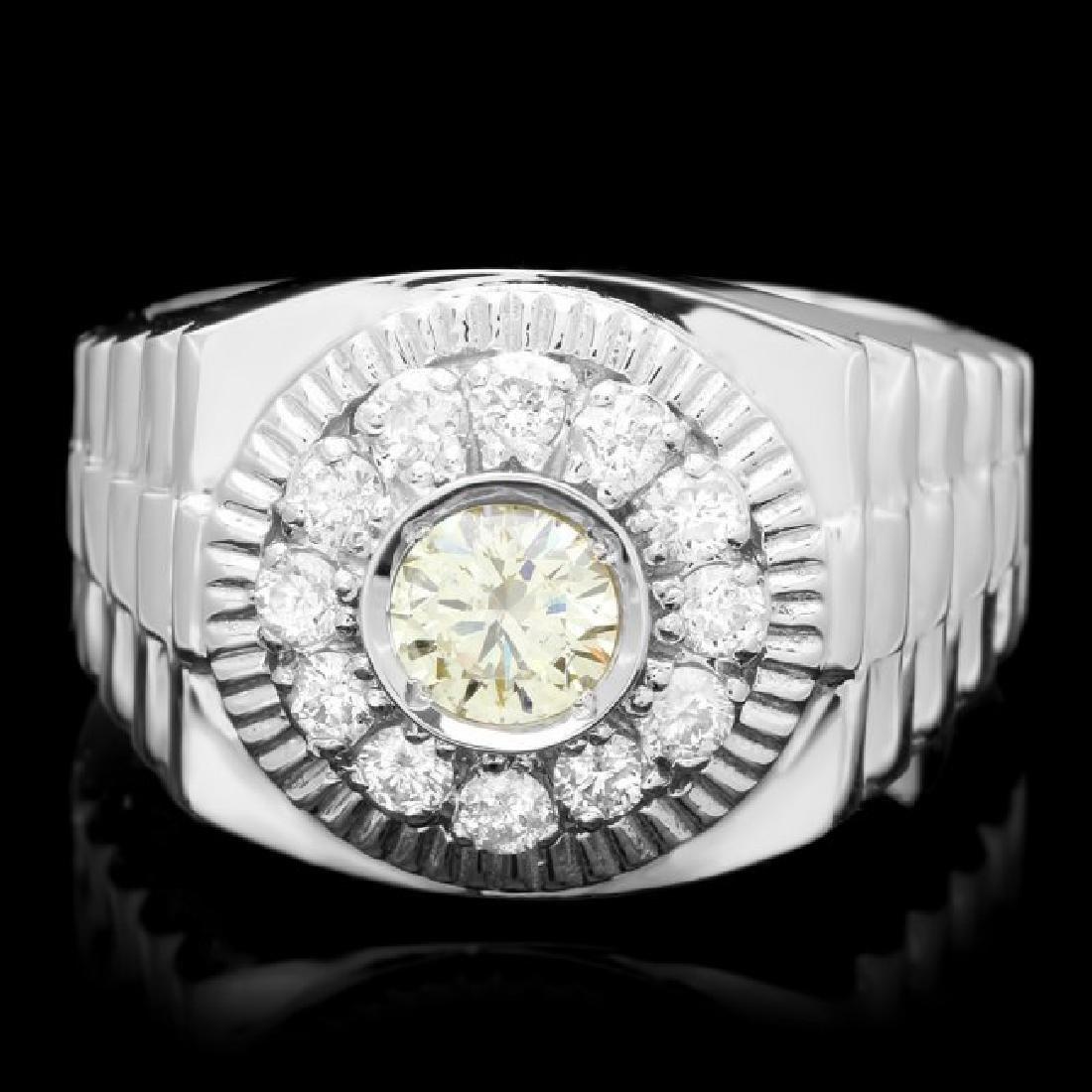 14k White Gold 1.05ct Diamond Ring
