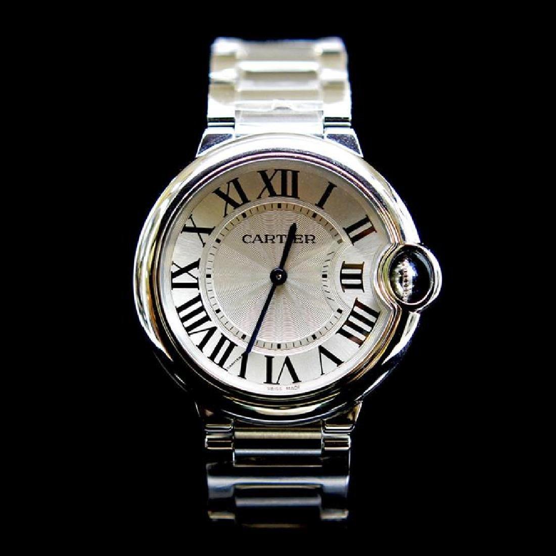 Cartier Ballon Bleu 33mm Womens Wristwatch