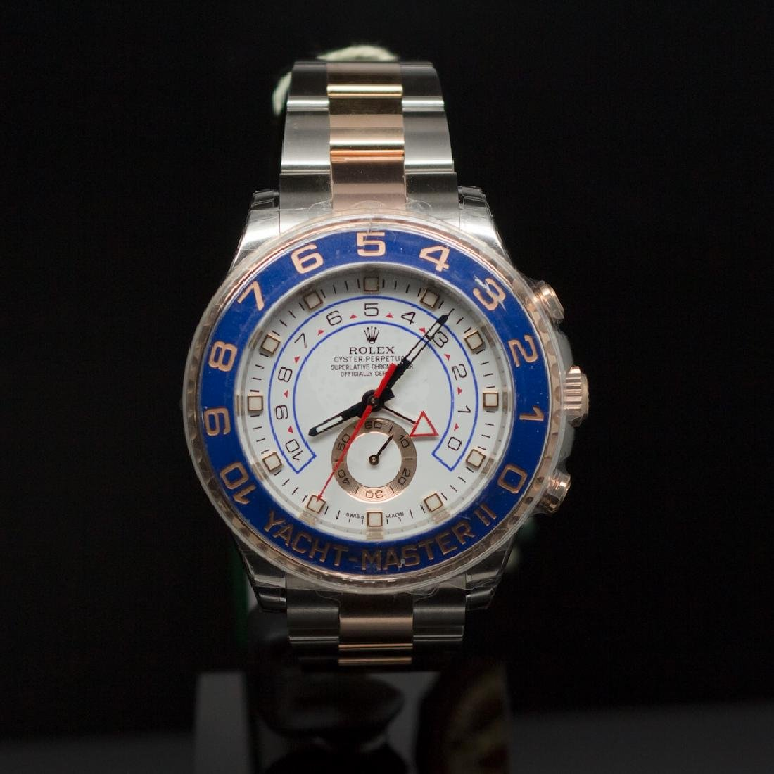 Rolex Two-Tone 44mm Yacht Master II Steel & EverRose
